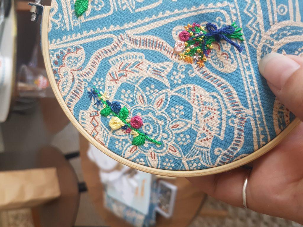 bouquet de fleurs les arts domestiques
