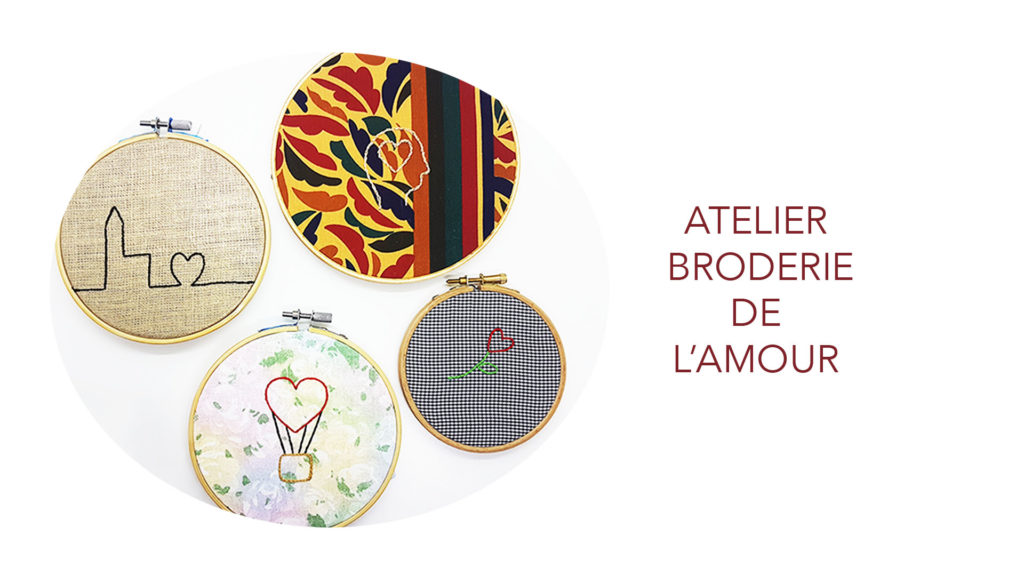 atelier broderie amour