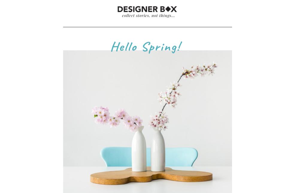 Les arts domestiques chez Designerbox