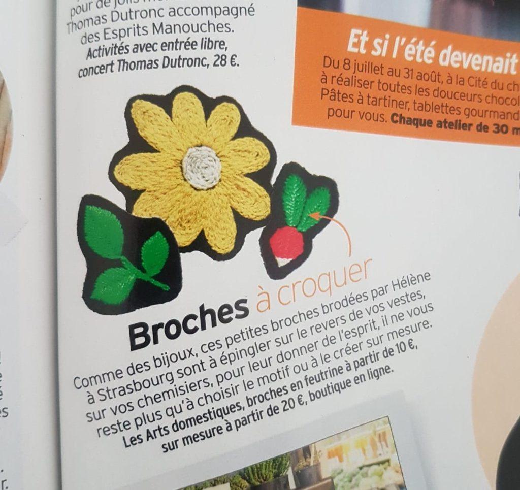 Les Arts Domestiques broderie Strasbourg