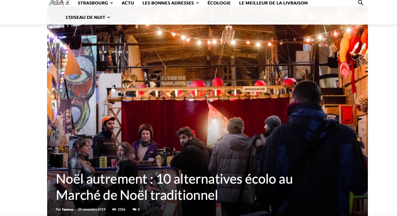 Noël Autrement Strasbourg